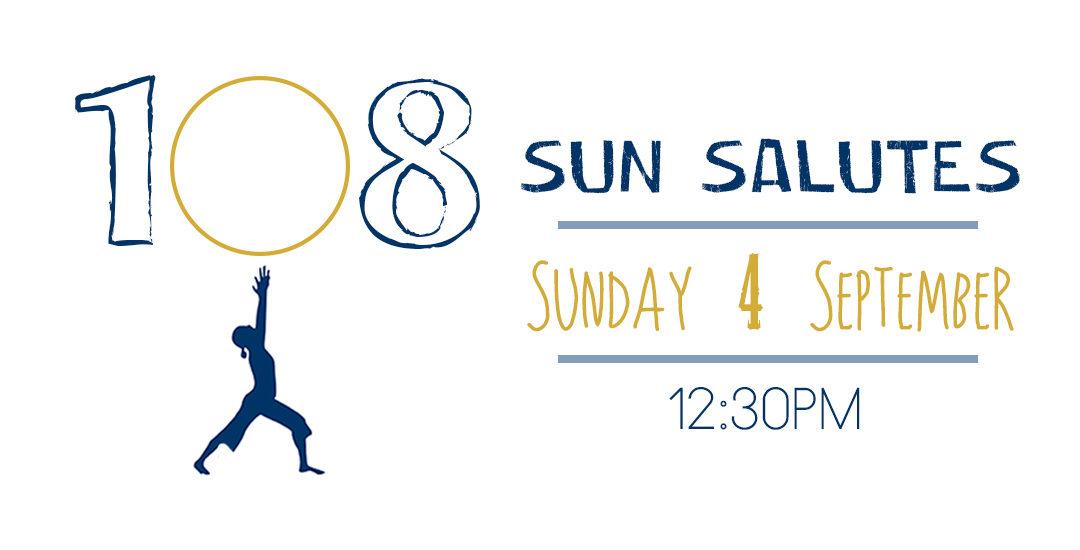 108 SUN SALUTES