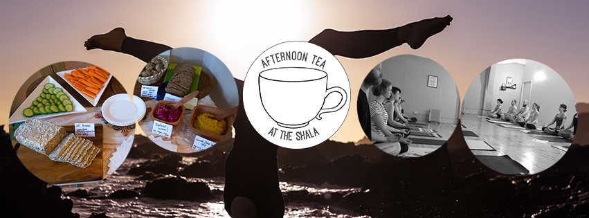 Afternoon Tea at The Shala –  4 Workshops