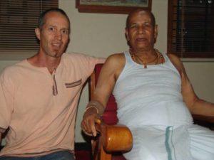 Mike and Guruji