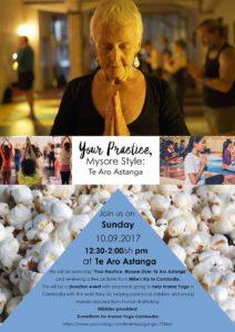 Mysore Style yoga film poster